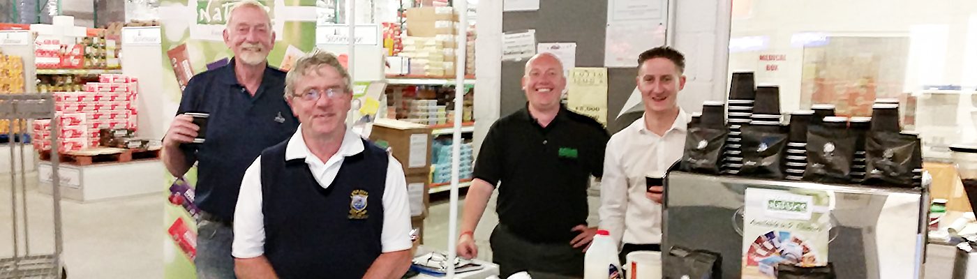 Coffee Tasting Event with White Hat & Murphys Cash & Carry
